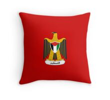 Palestine Coat of Arms Throw Pillow
