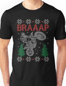 Motocross Braaap Christmas Unisex T-Shirt