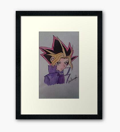 yugi / yugioh origanal Framed Print