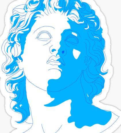 aesthetic sculpture Sticker
