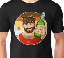 ADAM LIKES BEER - BEAR PRIDE VERSION Unisex T-Shirt