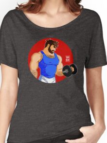 ADAM LIKES WORKINGOUT Women's Relaxed Fit T-Shirt
