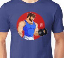 ADAM LIKES WORKINGOUT Unisex T-Shirt