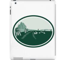 Avebury Stone Henge Circle Retro iPad Case/Skin