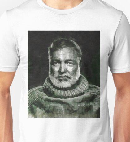 Ernest Hemingway Author Unisex T-Shirt