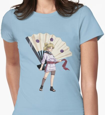 temari Womens Fitted T-Shirt
