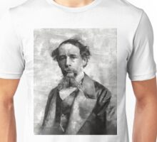 Charles Dickens Author Unisex T-Shirt