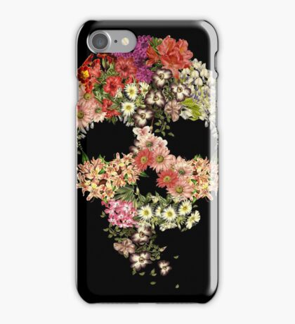 Skull Floral Decay iPhone Case/Skin
