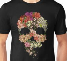 Skull Floral Decay Unisex T-Shirt