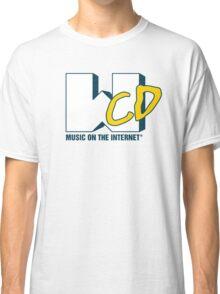 What CD Music On The Internet (Light Logo) Classic T-Shirt