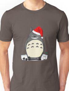 Totoro Christmas Santa Unisex T-Shirt