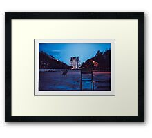 The Remains of the day_#01 Framed Print