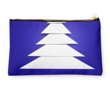 Abstract Christmas Tree Studio Pouch