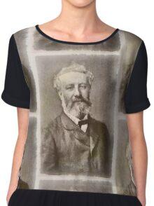 Jules Verne Author Chiffon Top