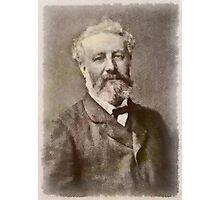 Jules Verne Author Photographic Print