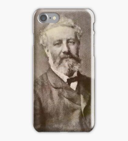 Jules Verne Author iPhone Case/Skin