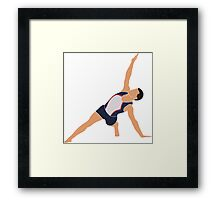 Male Gymnast Framed Print