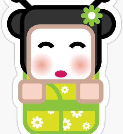 Likkle Zest Geisha Sticker
