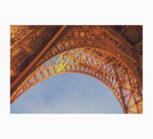 Golden Eiffel Tower Kids Tee