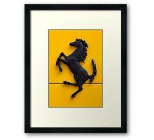 Ferrari horse  Framed Print