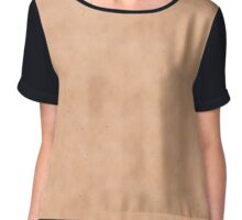 Skin Style Texture With Freckles Chiffon Top