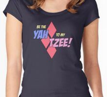 Be my Yahtzee! Women's Fitted Scoop T-Shirt