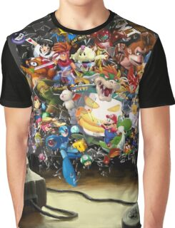 Super Nintendo Mashup! Graphic T-Shirt