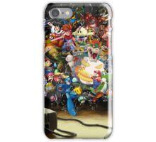 Super Nintendo Mashup! iPhone Case/Skin