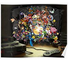 Super Nintendo Mashup! Poster