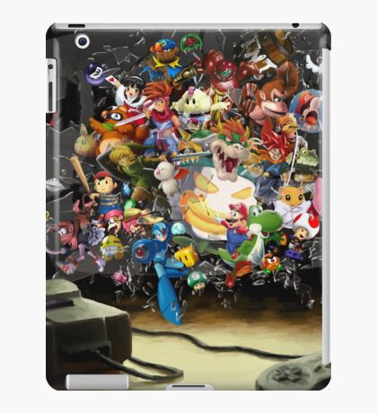 Super Nintendo Mashup! iPad Case/Skin
