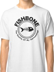 Fishbone The Reality of My Surroundings Rock Black Hooded Sweatshirt Size S M L XL Classic T-Shirt