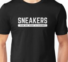 Sneakers - White Unisex T-Shirt