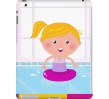 Cute stylish girl. Hand-drawn illustration iPad Case/Skin