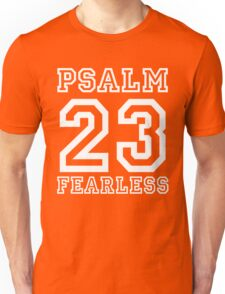 Psalm 23 T-Shirt Twenty Three Colors Sports Jersey Style Christian Faith Gift For Men & Women Unisex T-Shirt