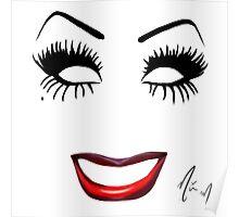 Bianca Del Rio - Minimalist Queens Poster