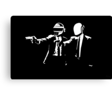 Daft Fiction Canvas Print