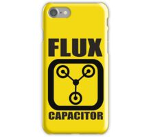 FLUX CAPACITOR TSHIRT Funny BACK TO THE FUTURE TEE Humor 80s DOC BROWN Marty VTG iPhone Case/Skin
