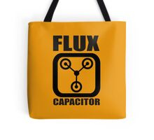 FLUX CAPACITOR TSHIRT Funny BACK TO THE FUTURE TEE Humor 80s DOC BROWN Marty VTG Tote Bag