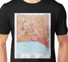 USGS TOPO Map California CA Topanga 295492 1991 24000 geo Unisex T-Shirt