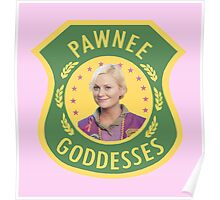 Pawnee Goddesses Leslie Knope Poster