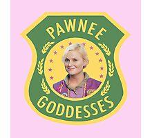 Pawnee Goddesses Leslie Knope Photographic Print