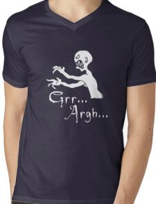 Grr... Argh... Mens V-Neck T-Shirt