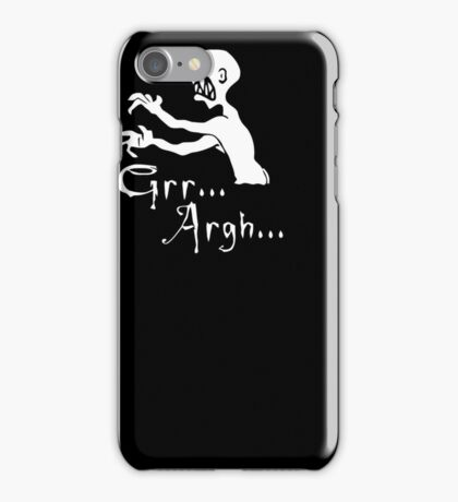Grr... Argh... iPhone Case/Skin