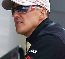 Michael Schumacher 2011 by Rhiannon D'Averc