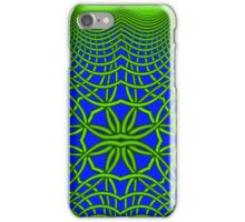 Psychedelic Sphere 5 Green iPhone Case/Skin