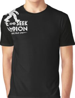 Hide &Seek Champion Since 1967 Shirt Funny Bigfoot Sasquatch Graphic T-Shirt