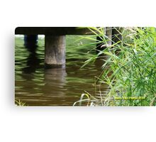 water under the bridge Canvas Print