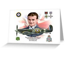 Wg Cdr Brendan 'Paddy' Finucane Greeting Card