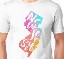 new jersey colorful Unisex T-Shirt