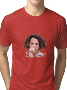 Zack De La Rocha Poly Art Tri-blend T-Shirt